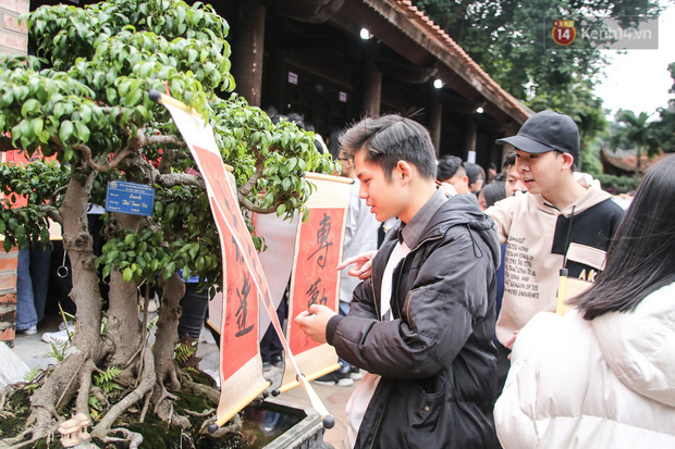 Ảnh: Chen chân xin chữ đầu năm mới tại Văn Miếu - Quốc Tử Giám - Ảnh 9.