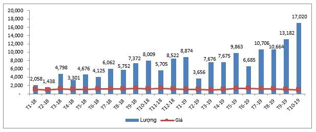Thịt lợn Ba Lan, Đức, Mỹ...  nhập về Việt Nam tăng mạnh, giá chỉ hơn 25.000 đồng/kg - Ảnh 1.