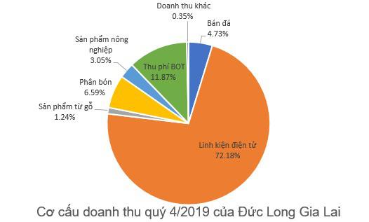 Đức Long Gia Lai (DLG) báo lãi 108 tỷ đồng năm 2019, gấp hơn 7 lần cùng kỳ - Ảnh 1.