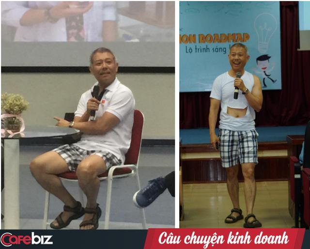 Giáo sư quần đùi Trương Nguyện Thành: Thi rớt mà nghĩ do mình dốt, startup thất bại mà nghĩ do mình là kẻ thất bại thì cuộc đời bạn coi như xong rồi! - Ảnh 2.