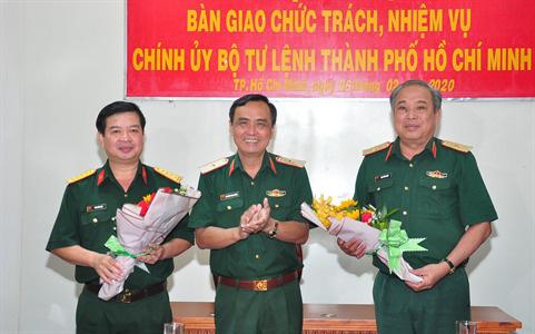 Bộ Quốc phòng bổ nhiệm 3 tân Chính ủy - Ảnh 2.