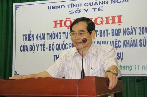 """Vụ Giám đốc Sở Y tế """"né"""" phát ngôn về dịch virus Corona, Chủ tịch Quảng Ngãi: """"Tôi vừa gọi để nhắc nhở nhưng chưa được"""" - Ảnh 3."""