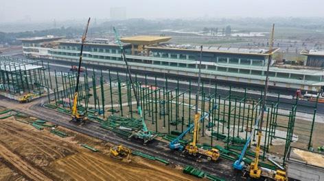 Chưa đầy 2 tháng nữa sẽ diễn ra chặng đua F1 Vinfast Vietnam: Tốc độ thi công thần tốc, Giám đốc đường đua F1 Michael Masi cũng phải bất ngờ - Ảnh 5.