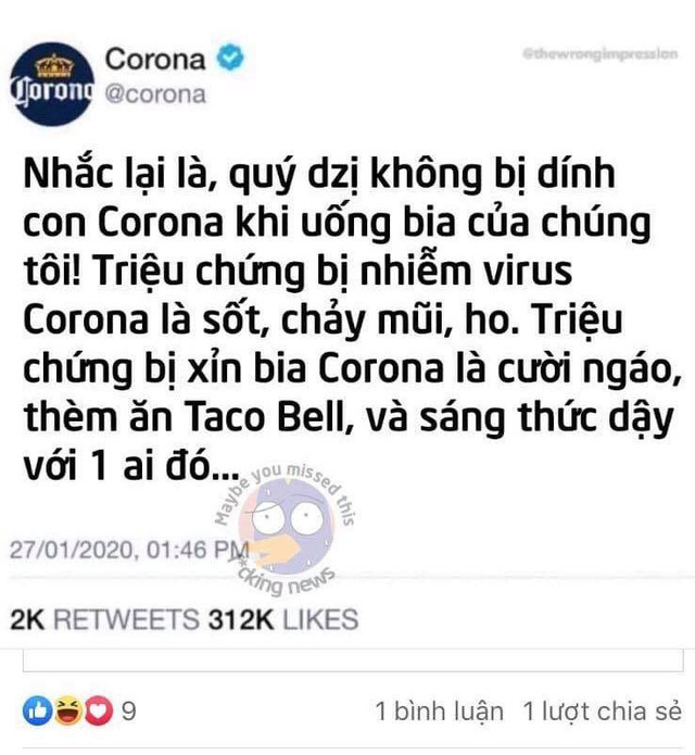 """Hãng bia Corona Extra """"dở khóc dở cười"""" vì dịch: Chẳng liên quan cũng bị réo tên, người Việt tìm kiếm nhiều nhất, bỗng nhiên được marketing miễn phí - Ảnh 5."""