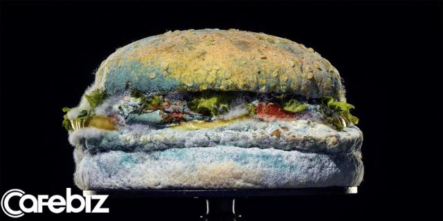 Chiêu trò marketing ngược đời của Burger King: Cho khách xem quá trình chiếc bánh hamburger phân huỷ đến mốc meo - Ảnh 1.