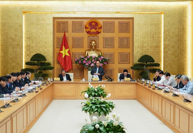 Thủ tướng họp gỡ vướng cho ngành đường sắt - Ảnh 1.