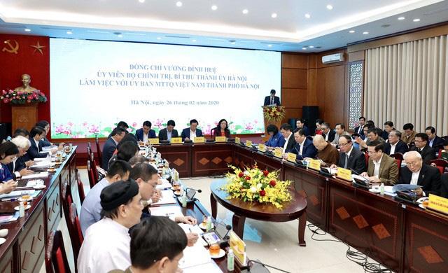 Bí thư Hà Nội Vương Đình Huệ: Chống dịch Covid-19, chúng ta phải xác định bảo vệ được Hà Nội là bảo vệ được cho cả nước - Ảnh 1.