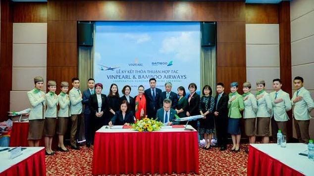 Bamboo Airways và Vinpearl hợp tác triển khai chuỗi sản phẩm hàng không – du lịch tiêu chuẩn quốc tế - Ảnh 1.