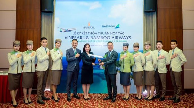 Bamboo Airways và Vinpearl hợp tác triển khai chuỗi sản phẩm hàng không – du lịch tiêu chuẩn quốc tế - Ảnh 2.