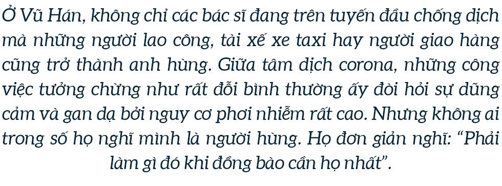 Những anh hùng vô danh ở Vũ Hán và câu chuyện kinh doanh tử tế giữa rốn dịch corona - Ảnh 1.