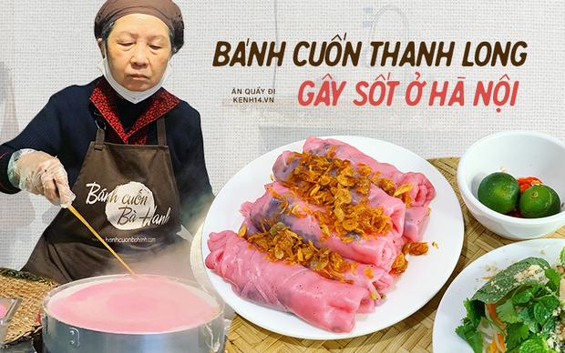 Sự thật về bánh cuốn thanh long hót họt ở Hà Nội: quán vắng nhưng đơn ship hàng thì ùn ùn, làm không kịp nghỉ tay - Ảnh 1.