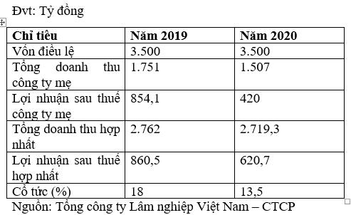 Niêm yết cổ phiếu Tổng công ty Lâm nghiệp Việt Nam - Ảnh 2.