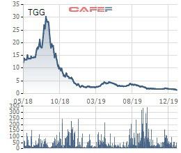 TGG giảm sâu, một nhà đầu tư đã phải liên tục bán cắt lỗ - Ảnh 1.