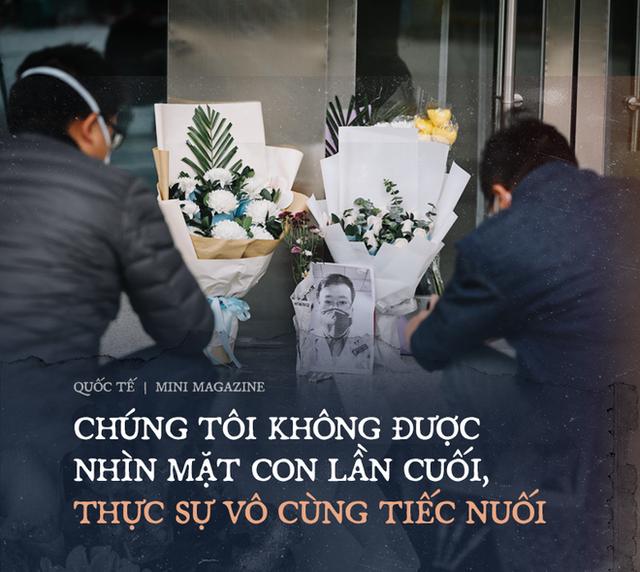 Nuối tiếc nghẹn lòng của mẹ bác sĩ Lý Văn Lượng: Không được nhìn mặt lần cuối, đến khi gặp lại, con chỉ là hũ tro tàn - Ảnh 1.