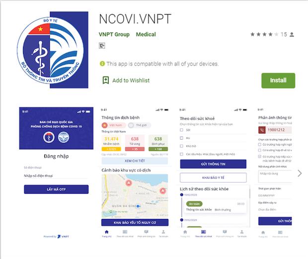 Ứng dụng khai báo y tế toàn dân Việt Nam ra mắt: Phản ánh nhanh các trường hợp nghi nhiễm COVID-19 tới cơ quan quản lý - Ảnh 1.