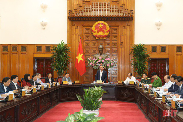 Đoàn lãnh đạo Hà Tĩnh làm việc với Bộ trưởng Nguyễn Chí Dũng không phải cách ly  - Ảnh 1.