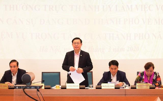 Bí thư Thành ủy Hà Nội: Thường trực, Ban Thường vụ Thành ủy luôn sát cánh, ủng hộ, tạo điều kiện thuận lợi nhất để các lãnh đạo, cán bộ làm việc thật tốt - Ảnh 1.