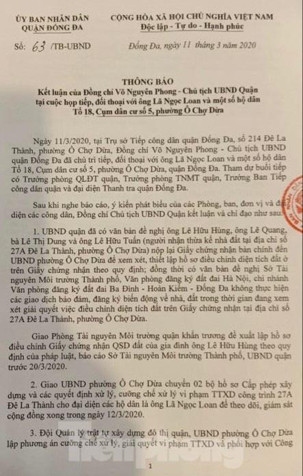 Vụ chết vẫn xác nhận đất đai ở Hà Nội: Thu hồi và phong toả 'sổ đỏ' cấp sai - Ảnh 1.