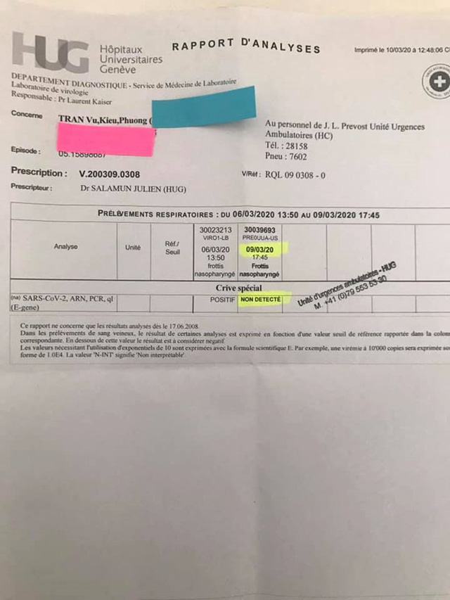 Du học sinh Việt ở Thuỵ Sĩ kể chuyện bị yêu cầu tự cách ly ở nhà, may mắn từ dương tính đến âm tính Covid-19 - Ảnh 4.