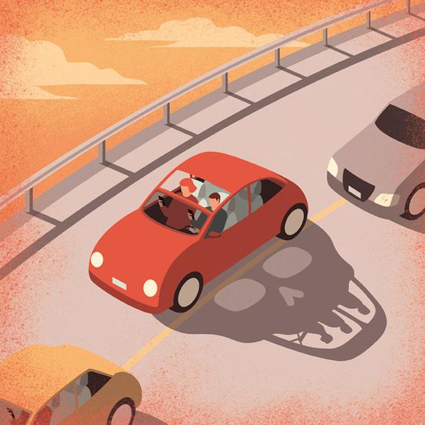 9 bức tranh vẽ lên hệ lụy của cuộc sống hiện đại: Phát triển càng nhanh thì vấn đề càng nhiều - Ảnh 6.