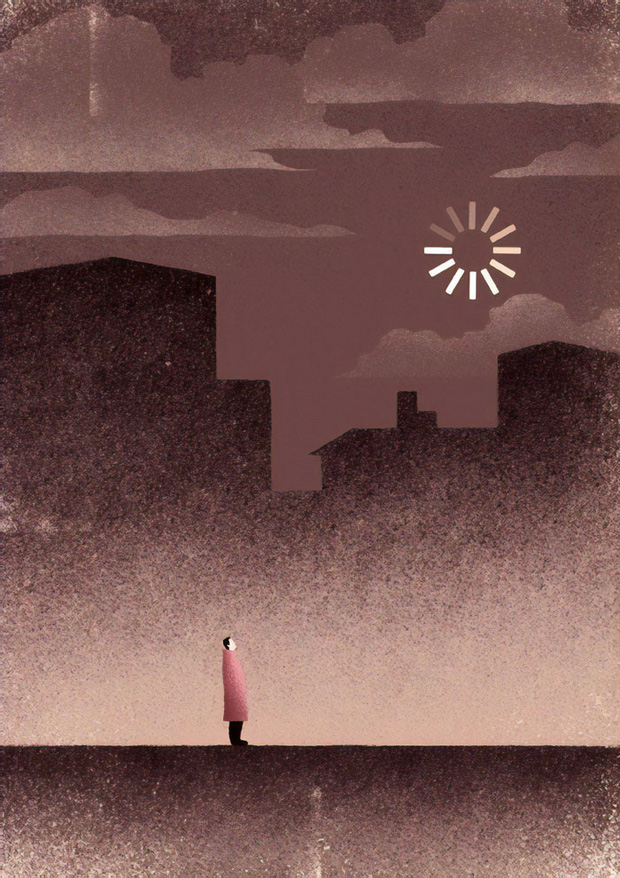 9 bức tranh vẽ lên hệ lụy của cuộc sống hiện đại: Phát triển càng nhanh thì vấn đề càng nhiều - Ảnh 9.
