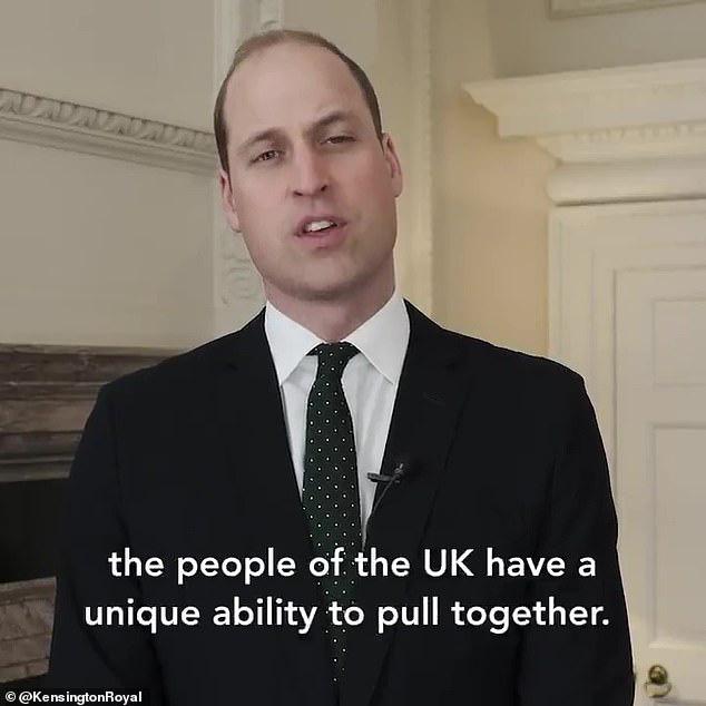 Hoàng tử William là thành viên hoàng gia đầu tiên lên tiếng về Covid-19, không chịu kém cạnh, nhà Meghan Markle cũng nối gót theo nhưng lại bị chỉ trích - Ảnh 1.