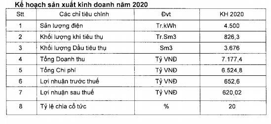 Điện lực Dầu khí Nhơn Trạch 2 (NT2): Kế hoạch LNST 2020 giảm 18% xuống 620 tỷ đồng - Ảnh 2.