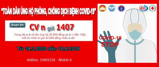 Chỉ sau 2 ngày kêu gọi, hơn 43 tỷ đồng đã được ủng hộ cho quỹ Phòng chống dịch Covid-19 qua Cổng nhân đạo 1407 - Ảnh 2.