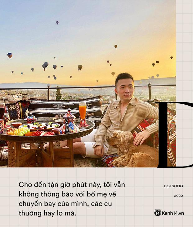 Tiếp viên trưởng Vietnam Airlines trên những chuyến bay cuối cùng vào tâm dịch: Tôi không dám nói với bố mẹ, chắc là lúc nào hạ cánh sẽ nhắn - Ảnh 2.