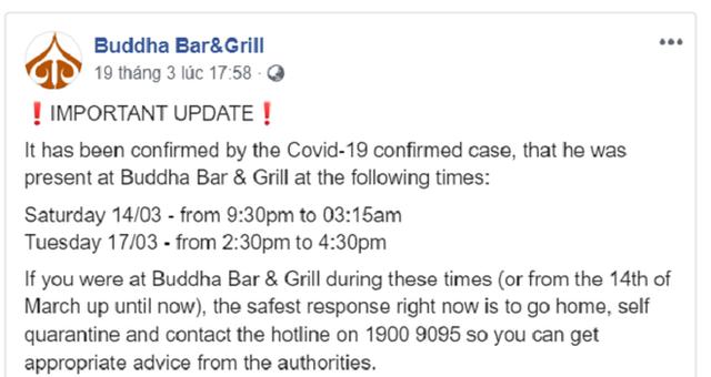 Lời phân bua khó chấp nhận của quán bar có khách nhiễm Covid-19, mở cửa bất chấp lệnh cấm - Ảnh 1.