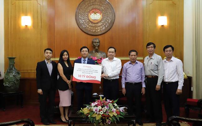 Thêm 125 tỷ đồng ủng hộ chống dịch Covid-19 trong 1 ngày: Vingroup đóng góp 100 tỷ, Toyota 10 tỷ