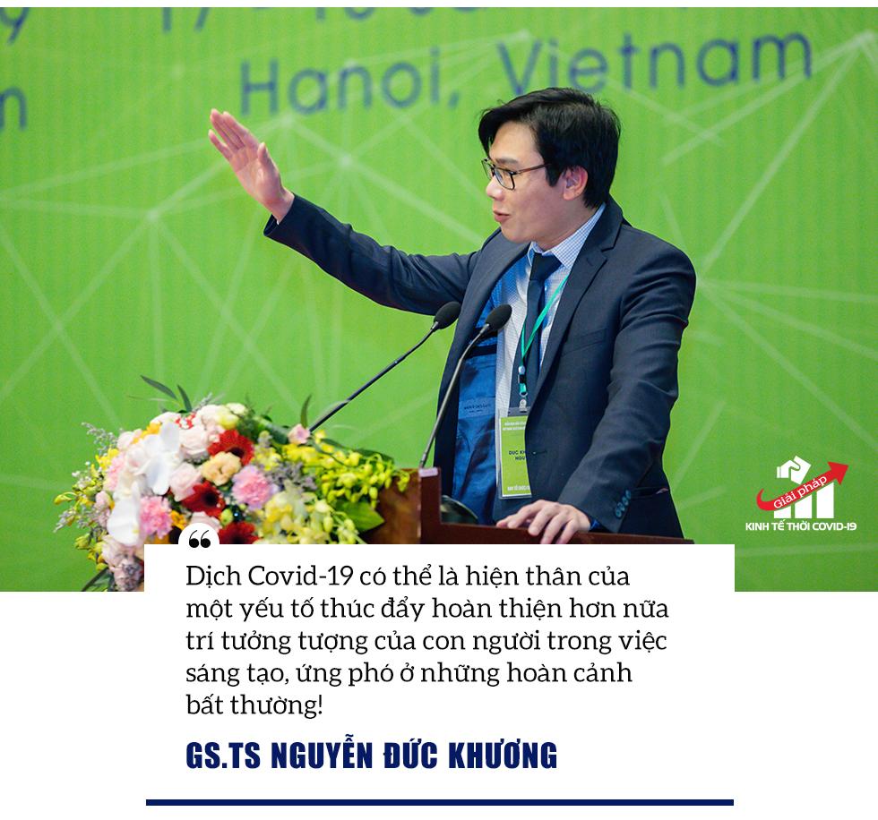 GS.TS. Nguyễn Đức Khương: Dịch Covid-19 có thể là hiện thân của một yếu tố thúc đẩy trí tưởng tượng con người! - Ảnh 9.