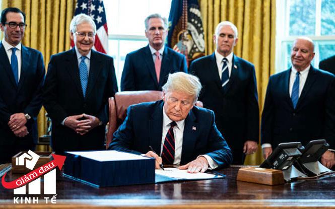 Sóng gió bất ngờ quanh dự luật cứu trợ lịch sử trị giá 2.000 tỷ USD, Tổng thống Trump cuối cùng cũng có thể hạ bút ký
