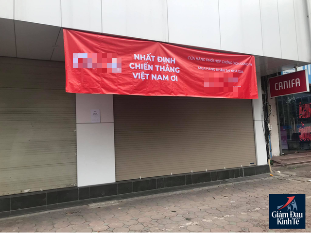 Hà Nội: Phố thời trang không một bóng người, loạt cửa hàng đóng cửa, trả mặt bằng - Ảnh 4.