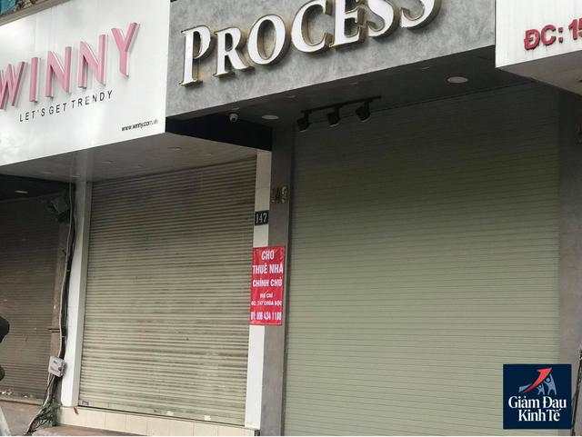 Hà Nội: Phố thời trang không một bóng người, loạt cửa hàng đóng cửa, trả mặt bằng - Ảnh 5.