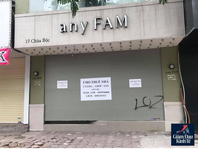 Hà Nội: Phố thời trang không một bóng người, loạt cửa hàng đóng cửa, trả mặt bằng - Ảnh 6.