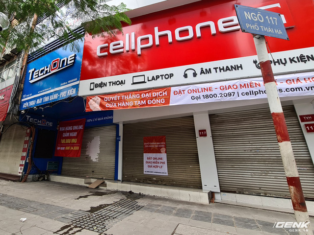 Cửa hàng kinh doanh điện thoại lớn nhỏ đóng cửa vì dịch, chuyển sang bán online - Ảnh 2.