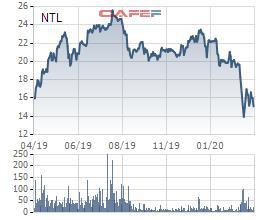 NTL giảm mạnh, Phó chủ tịch Lideco đăng ký mua thêm 1,2 triệu cổ phiếu - Ảnh 1.
