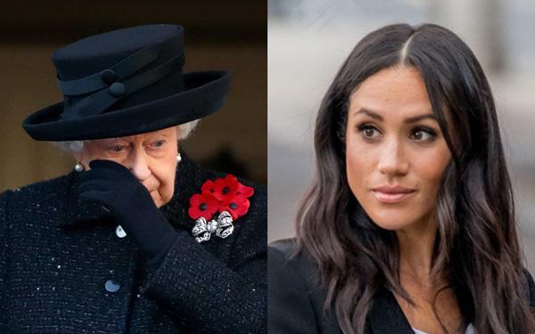 Báo Mỹ: Lời nói quá quắt của Meghan Markle khiến Nữ hoàng Anh rơi nước mắt cùng sự bất lực của Hoàng tử Harry - Ảnh 2.