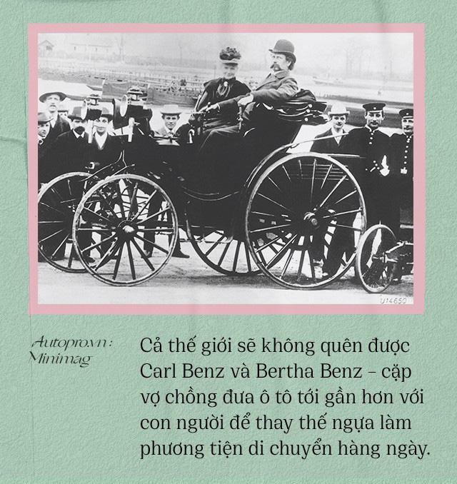 Chuyện ít biết về người vợ liều lĩnh của Benz: Không có bà thì không có Mercedes-Benz và càng không có ô tô hiện đại như ngày nay - Ảnh 8.