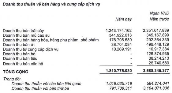 HAGL Agrico (HNG): Lỗ ròng hơn 2.400 tỷ đồng năm 2019, kiểm toán tiếp tục nêu ý kiến ngoại trừ liên quan nghị định 20 - Ảnh 1.