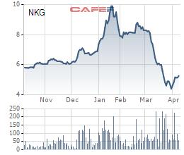 Nhóm cổ đông ngoại vừa bán ra hơn 9 triệu cổ phiếu của Thép Nam Kim - Ảnh 2.