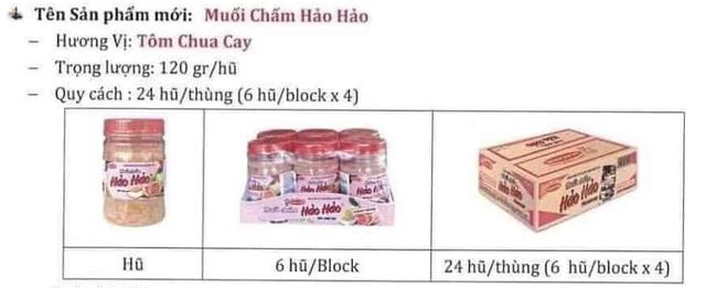 Muối chấm Hảo Hảo được bán tràn lan trên mạng xã hội, giá chỉ từ 15.000 đồng/lọ - Ảnh 1.
