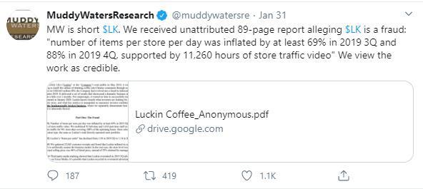 """[Gian lận & Sụp đổ] Khai khống 40% doanh số, """"kẻ thách thức Starbucks"""" đến từ Trung Quốc huy động được cả tỷ USD trước khi bốc hơi 80% giá trị - Ảnh 3."""