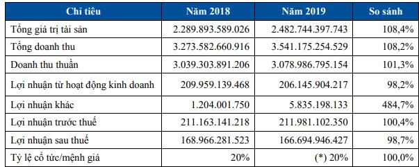 Pinaco (PAC) dự kiến lợi nhuận trước thuế năm 2020 giảm nhẹ về mức 205 tỷ đồng - Ảnh 1.