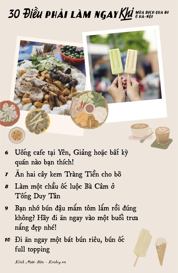 """Khi mùa dịch qua đi, có 30 điều bạn nên tranh thủ làm ở Hà Nội để khoả lấp """"con tim thổn thức"""" bấy lâu nay! - Ảnh 1."""