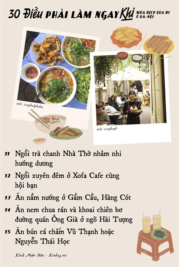 """Khi mùa dịch qua đi, có 30 điều bạn nên tranh thủ làm ở Hà Nội để khoả lấp """"con tim thổn thức"""" bấy lâu nay! - Ảnh 2."""