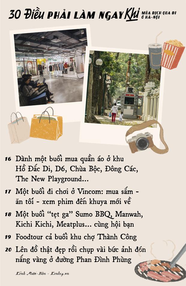 """Khi mùa dịch qua đi, có 30 điều bạn nên tranh thủ làm ở Hà Nội để khoả lấp """"con tim thổn thức"""" bấy lâu nay! - Ảnh 3."""