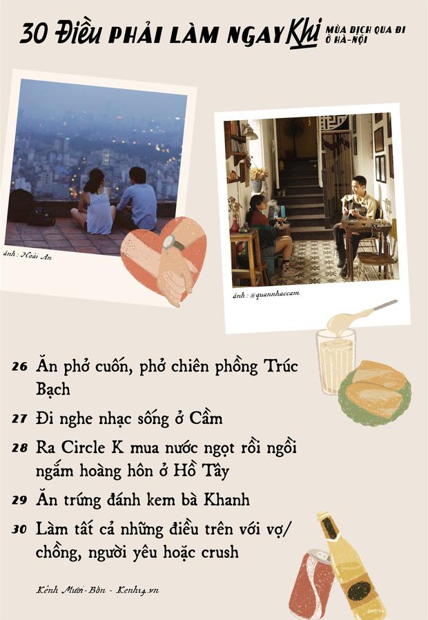 """Khi mùa dịch qua đi, có 30 điều bạn nên tranh thủ làm ở Hà Nội để khoả lấp """"con tim thổn thức"""" bấy lâu nay! - Ảnh 5."""