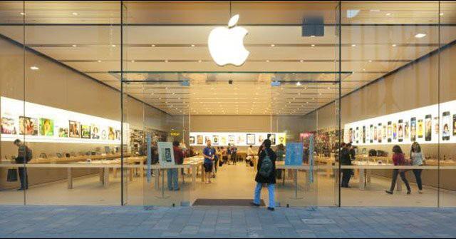 Apple Store đầu tiên chính thức mở cửa trở lại từ khi có dịch Covid-19 - Ảnh 1.